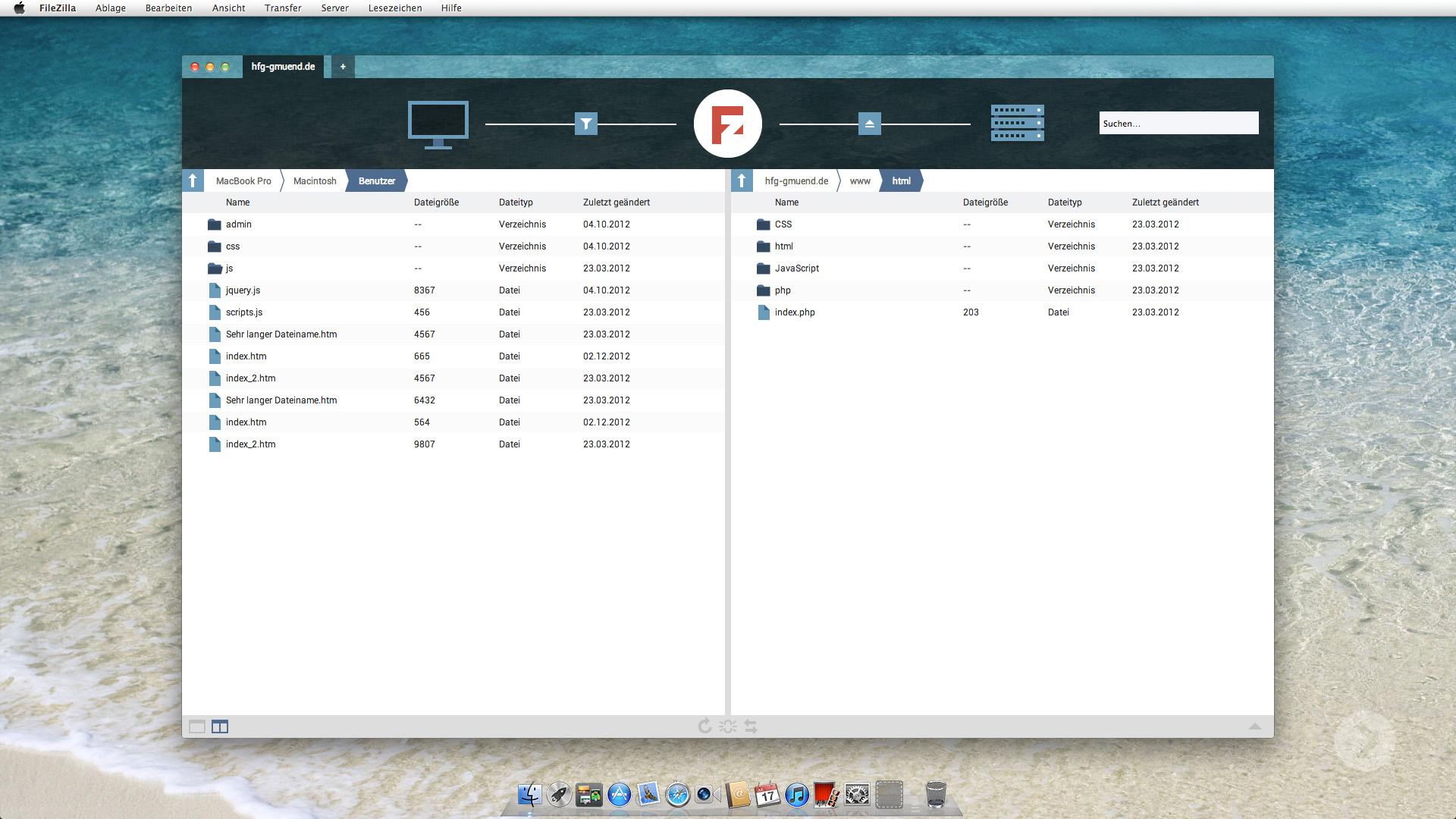 Filezilla Redesign